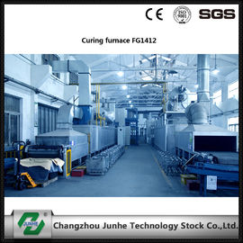 Double Combustion Curing Furnace Save Aeration Consumption FGG1612 For Zinc Flake Coating
