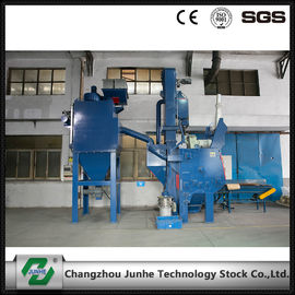 Automatic Shot Blasting Machine / Industrial Shot Blasting Equipment High Efficiency