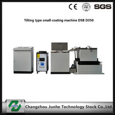 China Easy Operation Metal Coating Line Tilting Type Small Coating Machine White / Gray Color supplier