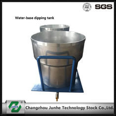 Water Base Paint Dipping Tank Coating Machine Parts Steel Material ISO9001 Approval