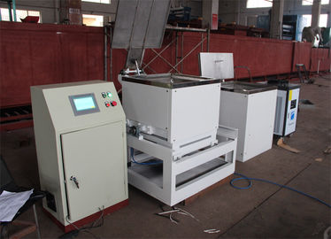 Tilting Type Zinc Coating Machine For Zinc Flake Coating Max Capacity 500 Kg/H