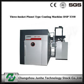 Three Basket Planet Zinc Flake Coating Machine DSP T350 Operation Control System
