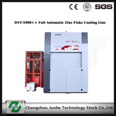China Zinc Flake Dip Spin Coating Machine 75° Tilting Angle DST-S800++ Full Automatic centrifugal speed top coat supplier