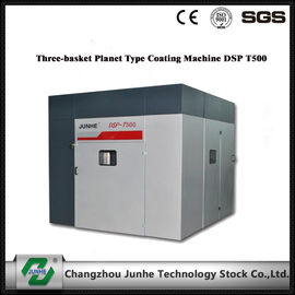 Energy Saving Dip Spin Coating Machine Three Basket Planet Type High Speed