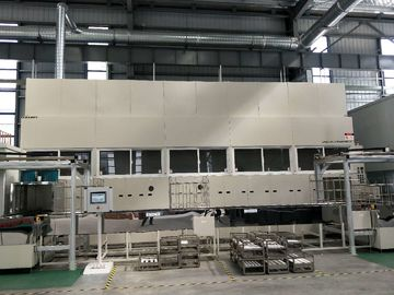 Injector Precision Spray Metal Coating Line Automatic Loading And Unloading Patented Products can be operated by robots