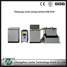 Good Quality Zinc Flake Coating & Easy Operation Metal Coating Line Tilting Type Small Coating Machine White / Gray Color on sale