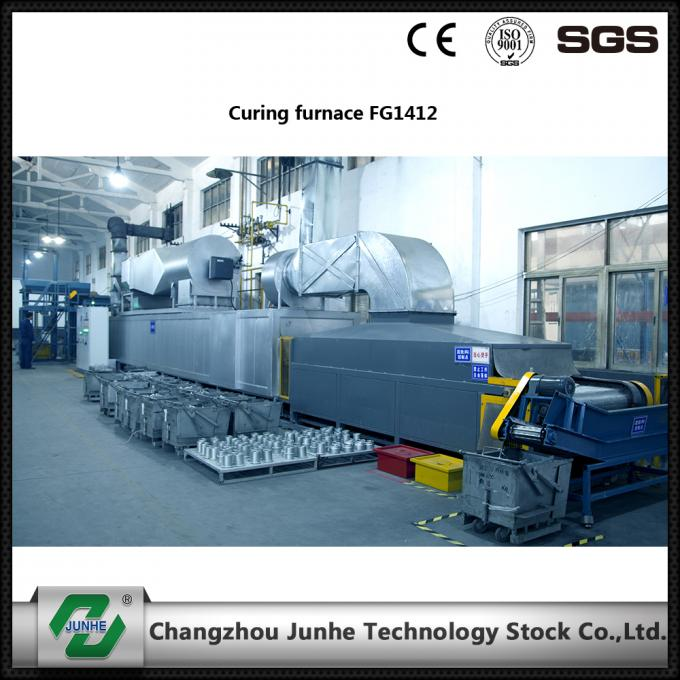 Low Noise Coating Furnace Heat Treatment Furnace High Effcient 14m*12m*0.3m