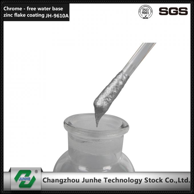 Low Friction Zinc Flake Coating / Zinc Nickel Plating Good Heat Resistance JH-9610
