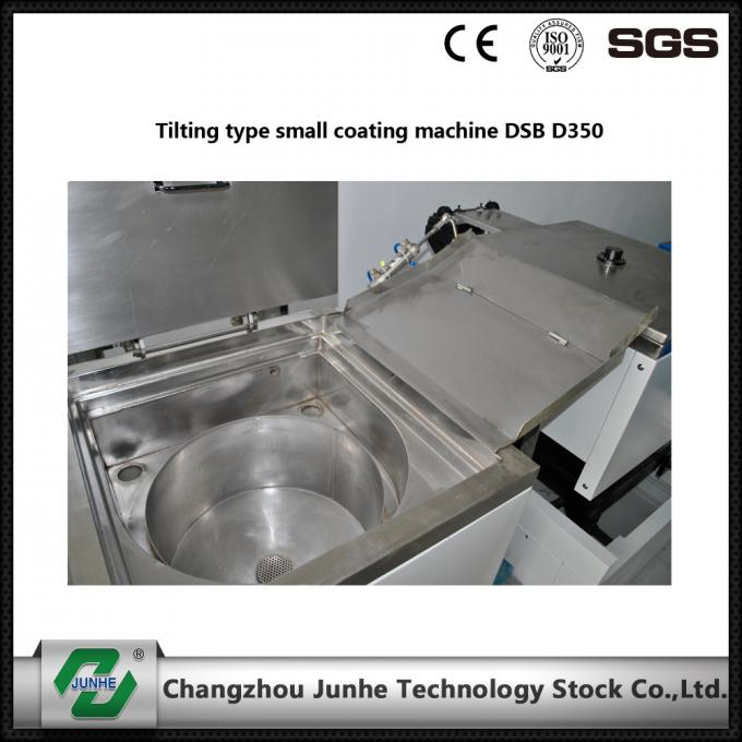 Easy Operation Metal Coating Line Tilting Type Small Coating Machine White / Gray Color